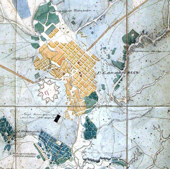 карта 1835
